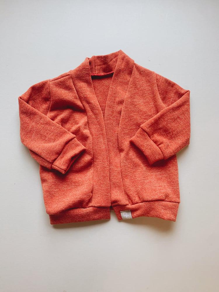 Image of Softy Firebrick Cardigan