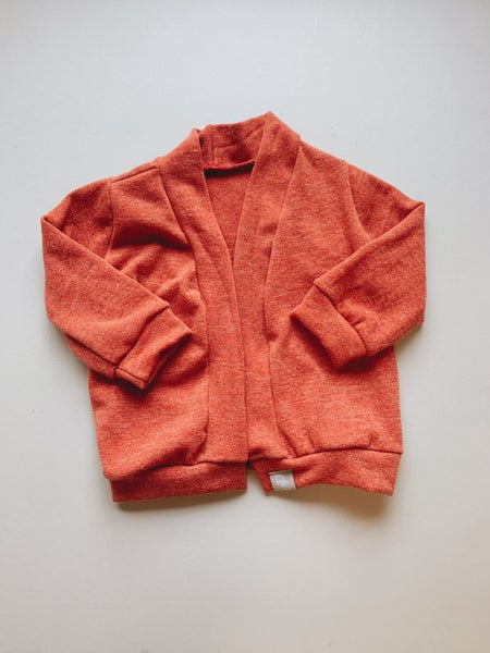 Image of Softy Firebrick Cardigan