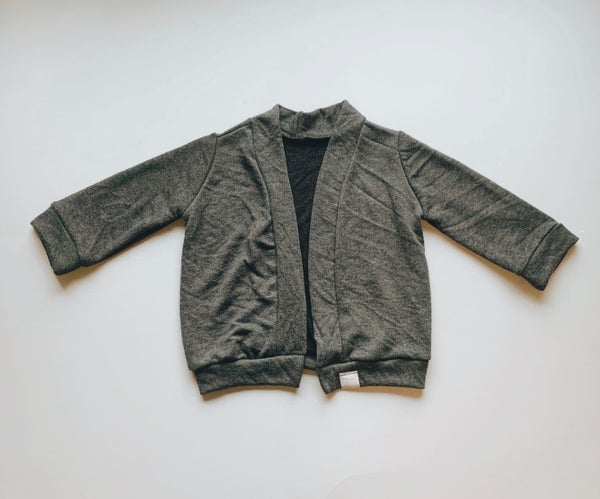 Image of Gray Cardigan