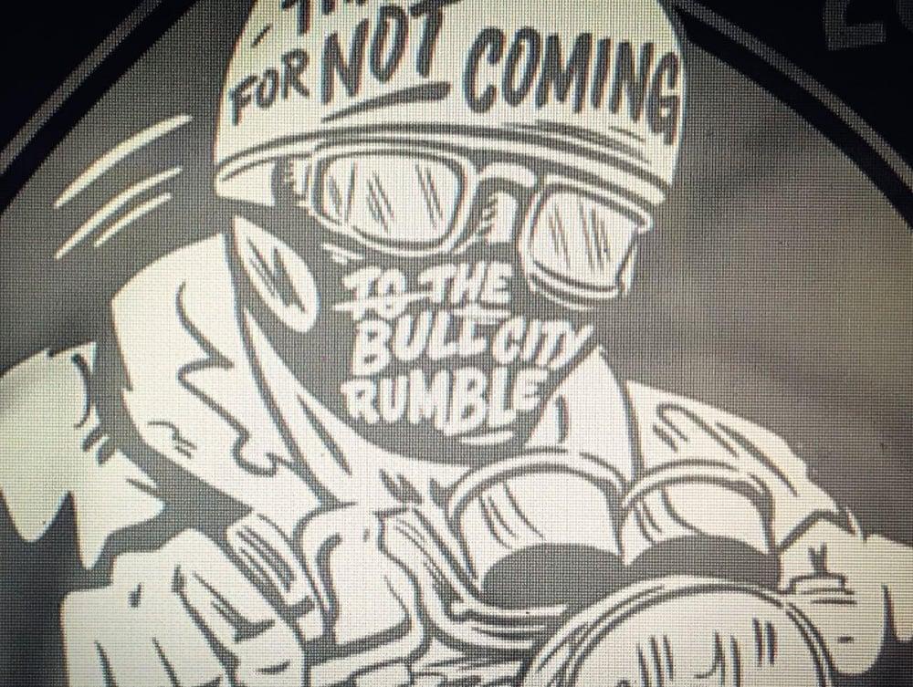 Image of 2020 No Bull City Rumble Shirt