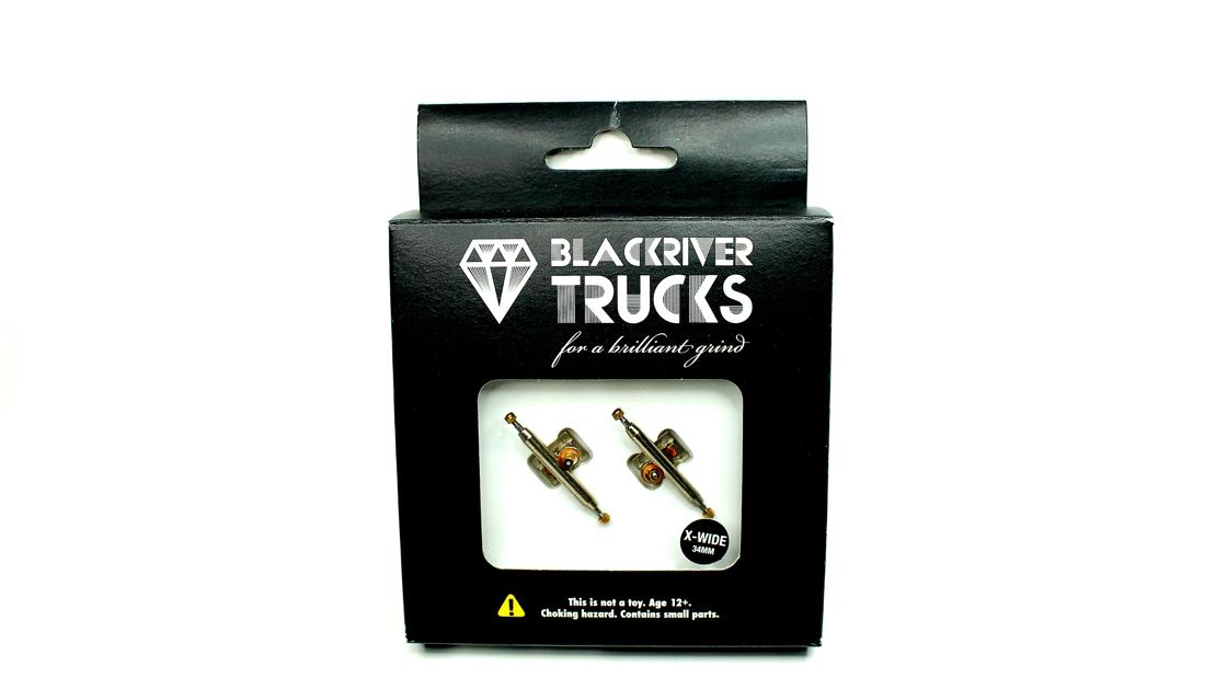Image of BLACKRIVER Trucks 34mm (Silver)