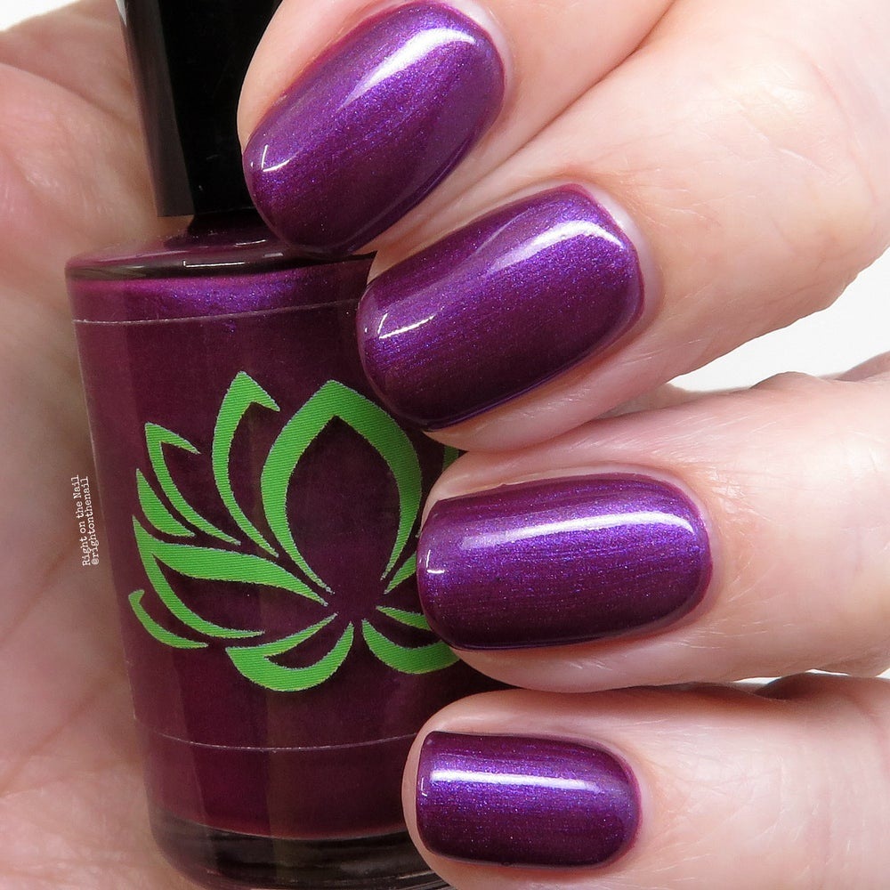 Image of Aubergine Nail Polish