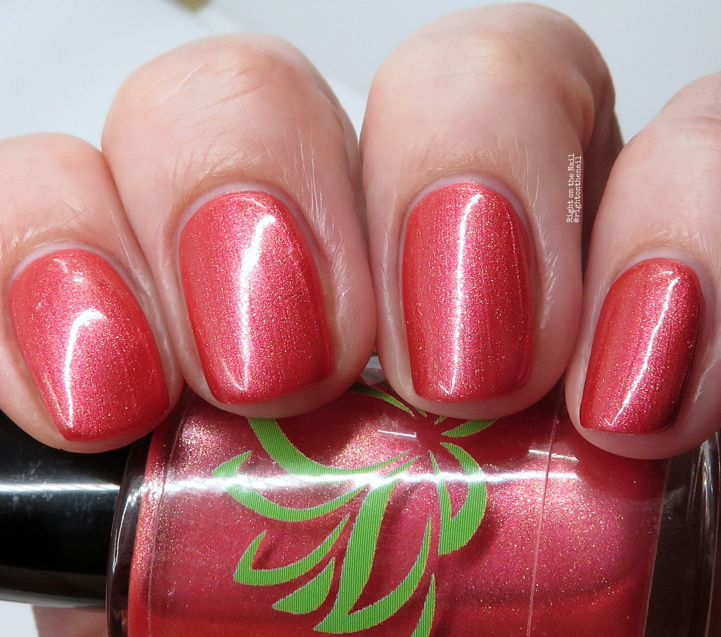 Image of Tickled Pink Nail Polish
