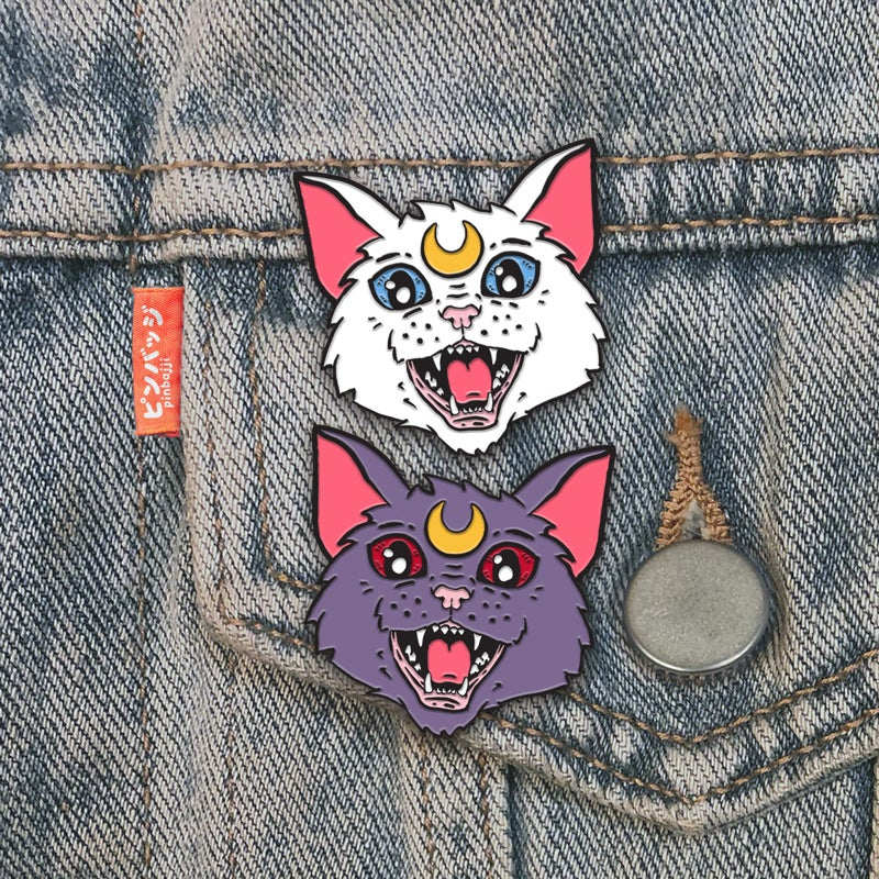 Image of Attack Cats! Pins