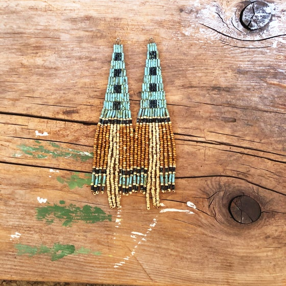 Image of Picasso Bugle Top earrings