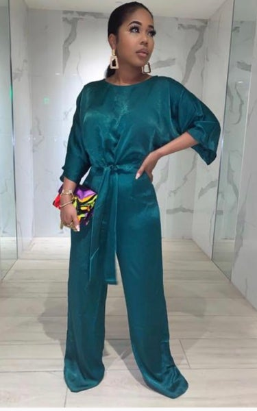 Image of Silky Jumpsuit