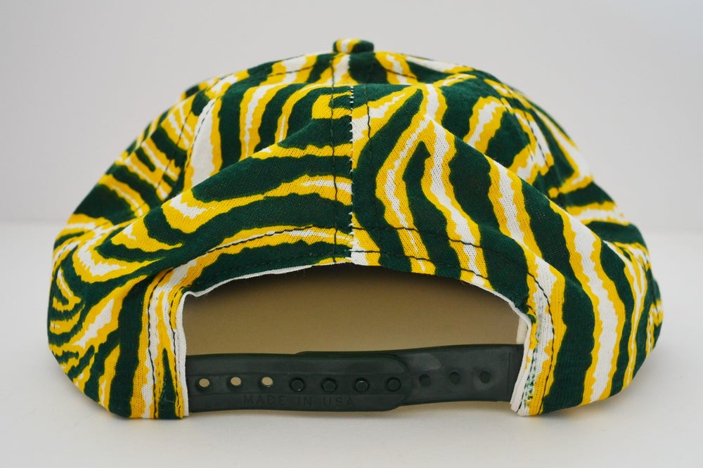 Image of Vintage 1990's Oakland Athletics Twins Enterprise / Zubaz Snapback