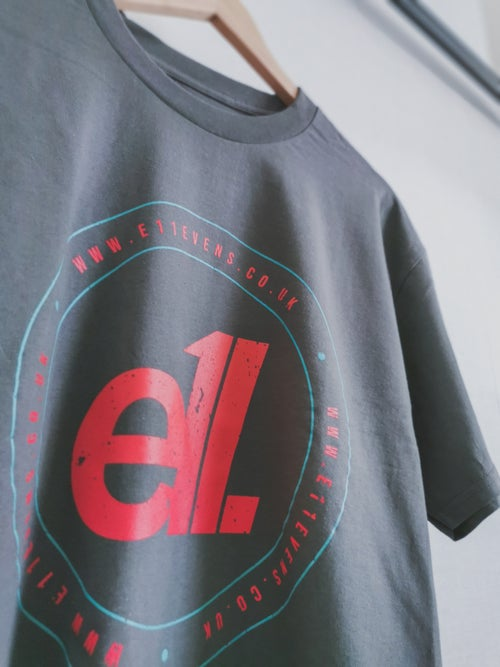 Image of E11evens - Large circle outline t-shirt - Event Ltd Edition