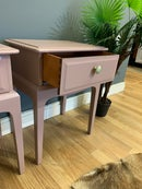 Image 3 of Stag bedside tables in Farrow & Ball