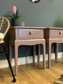 Image 5 of Stag bedside tables in Farrow & Ball