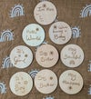 Little Willow Rabbit Milestone Discs