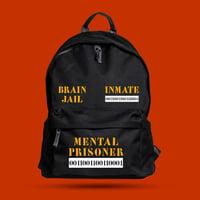 MOSTRO - ZAINO MENTAL PRISONER - HONIRO STORE