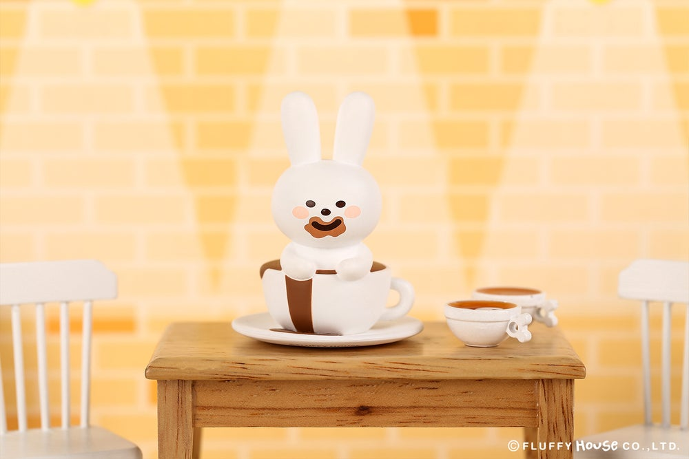 Image of Mr. White Cloud Mini Series 3 - Fluffy Cafe (Random)