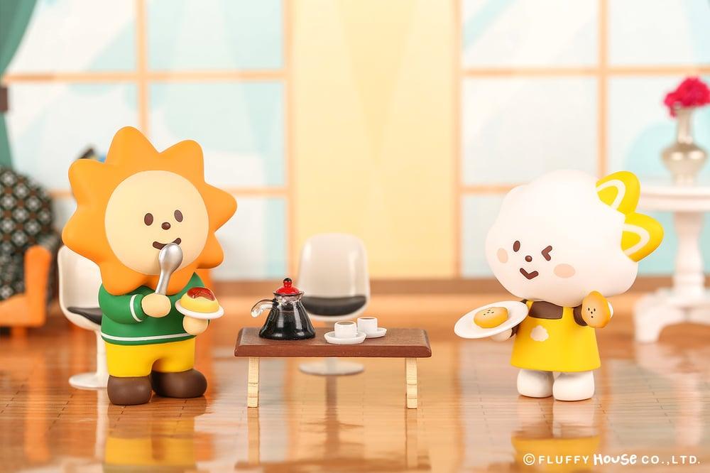Image of Mr. White Cloud Mini Series 3 - Fluffy Cafe (Whole Set)