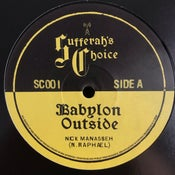 "Image of Nick Manasseh - 'Babylon Outside' / 'Brexit Blues' (Sufferah's Choice new UK 12"" vinyl)"