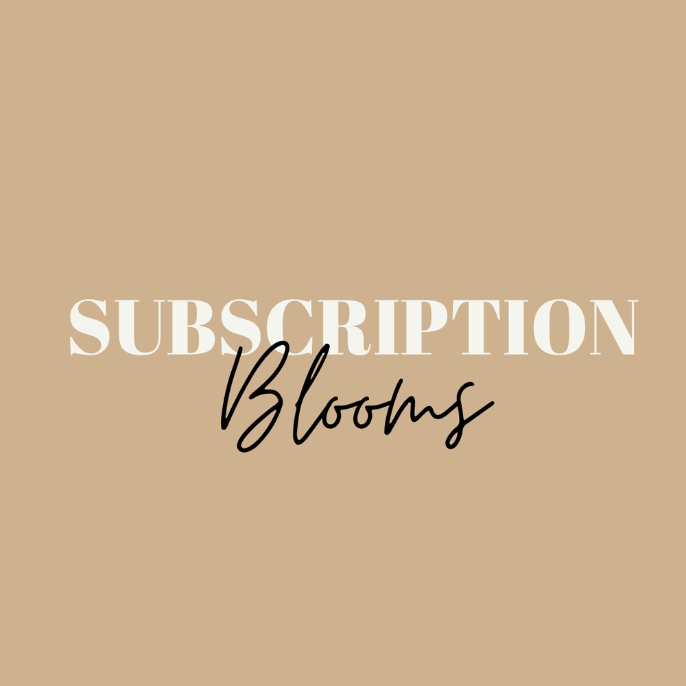 Image of Subscription blooms