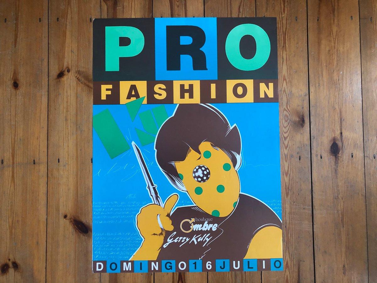 Image of Ku Poster - Pro Fashion (Yves Uro) 1989