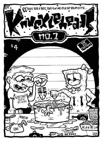 Image of Knuckleheads issue 1 | Fall 2020 (Fluke Publishing)