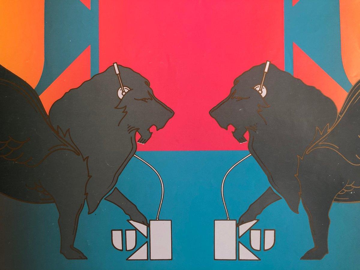 Image of Ku Poster –Ibiza Babilon 1989