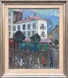 20th Century Swedish School 'Paris Cafe'