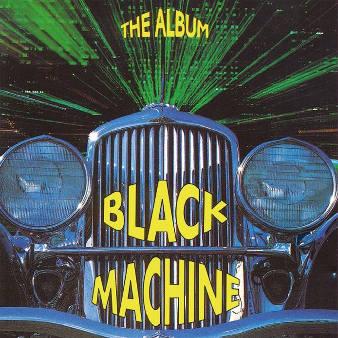 Image of SAI10009 // BLACK MACHINE - THE ALBUM (VINILE GIALLO 180 GR.)