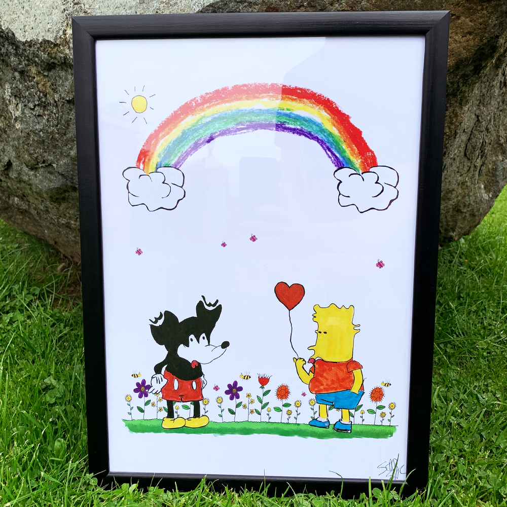 """Image of """"Love is love"""" print (Signed)"""