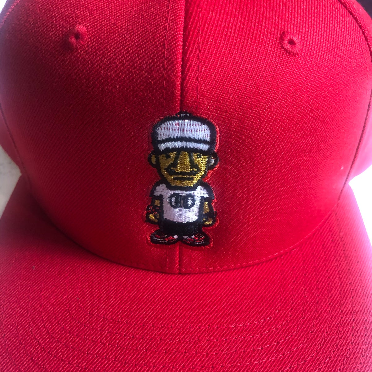 Red Character Logo SnapBack