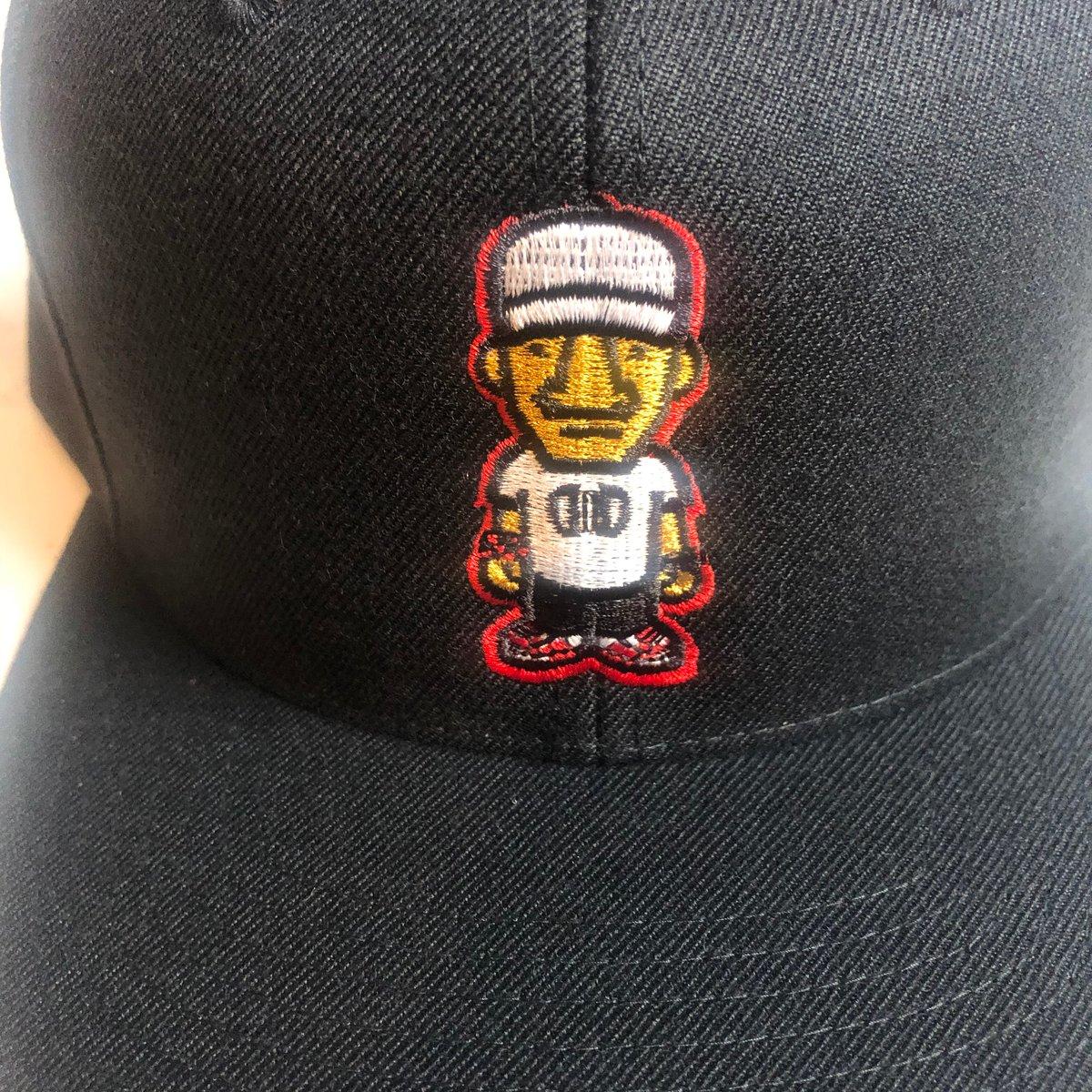 Black Character Logo SnapBack