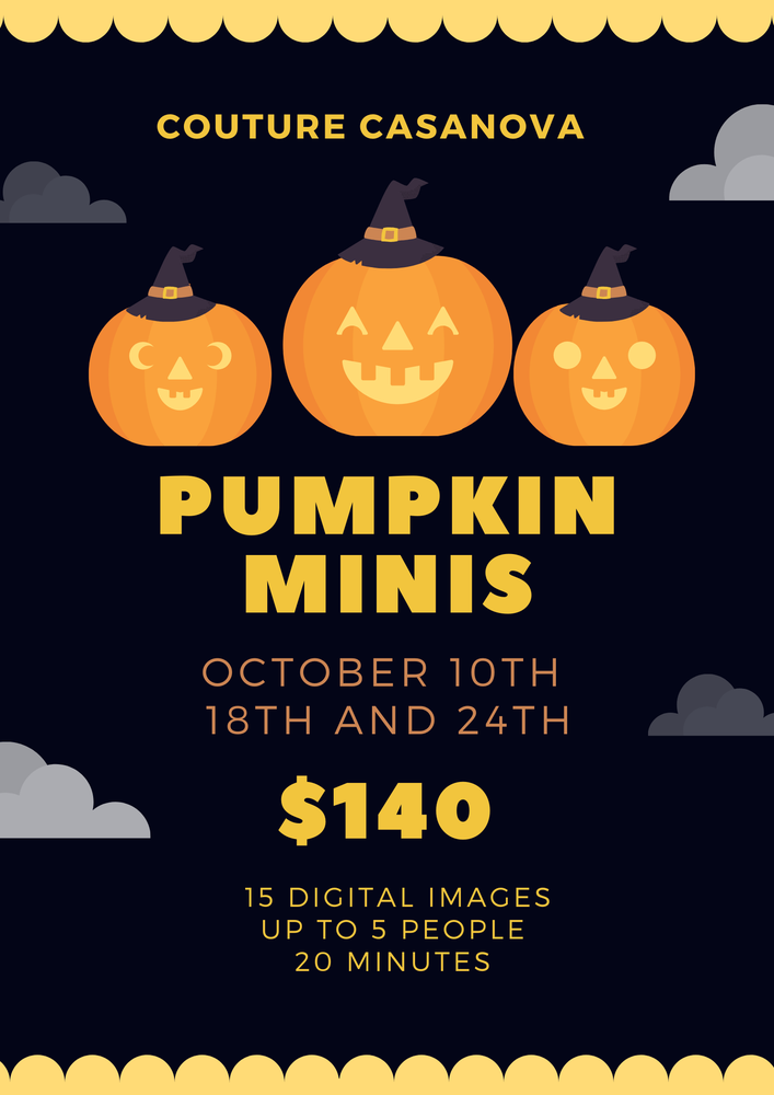Image of Pumpkin Minis October 24th