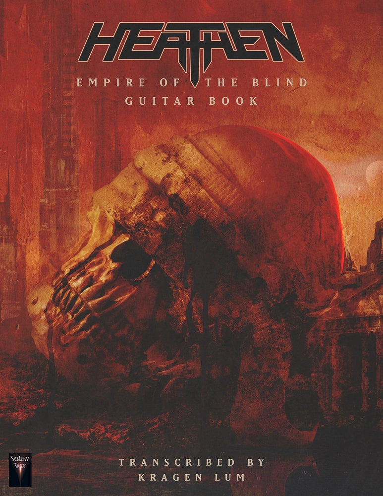 Image of Empire Of The Blind Guitar Book (Print Edition)