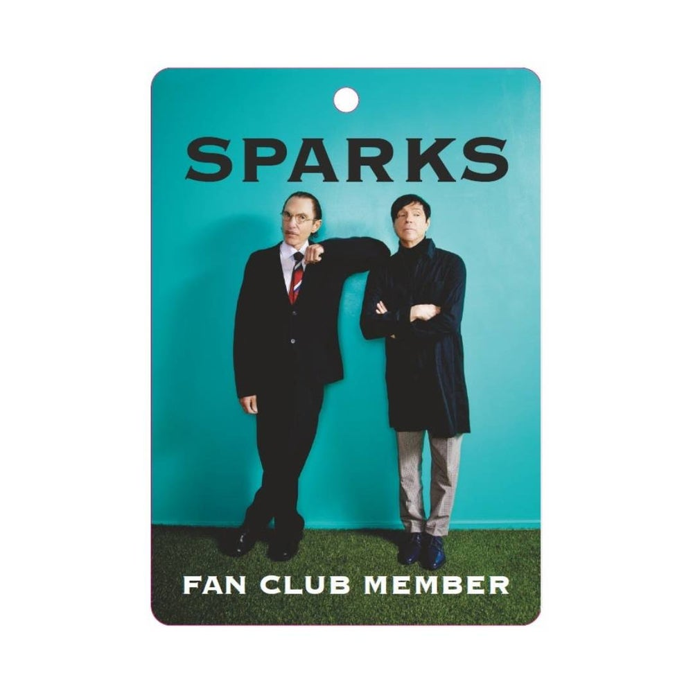 Image of Sparks Fan Club Membership (EMAIL)