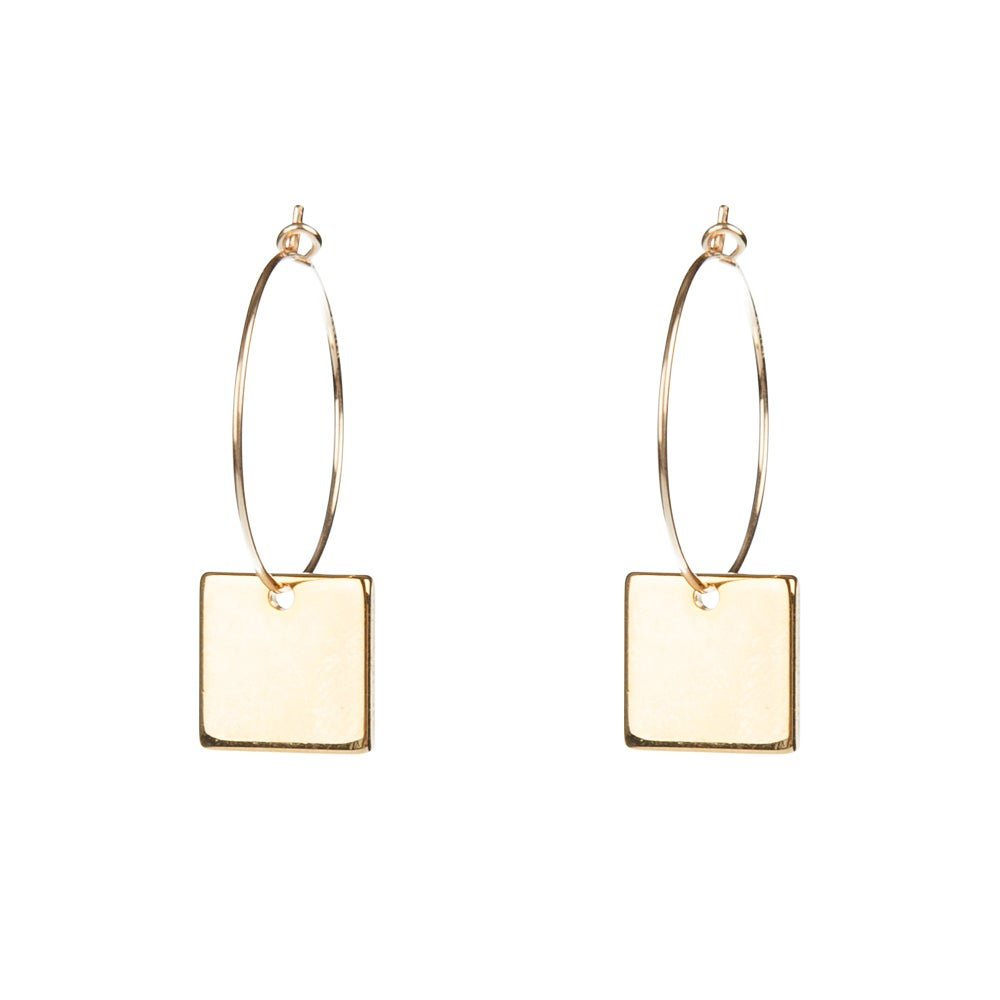 Image of Square hoops