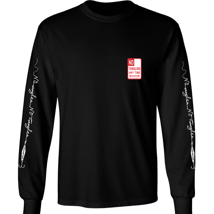 Image of No Tangling Long Sleeve (black)