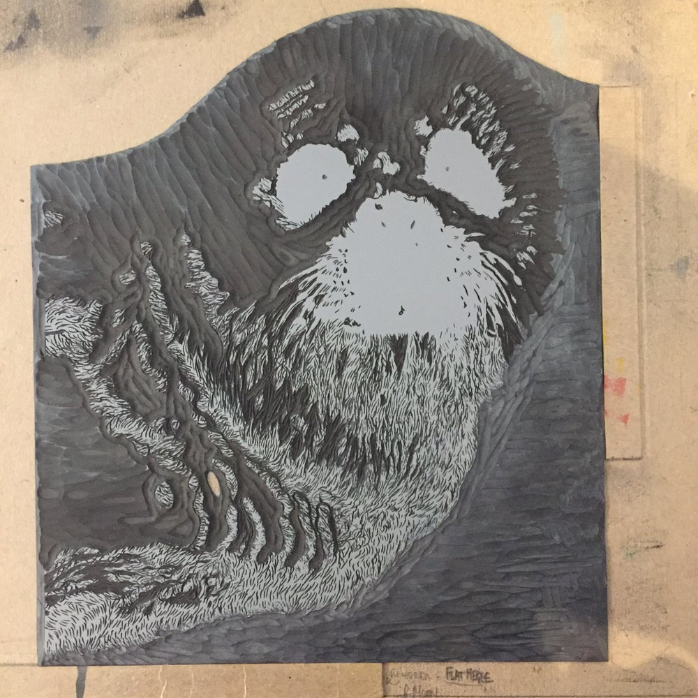 Image of Seal Pup, Reduction Linocut