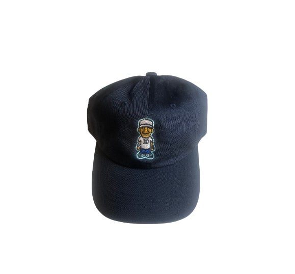 Navy Blue Character Logo Dad Hat
