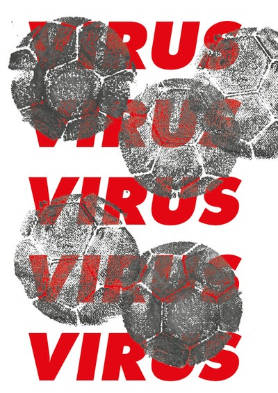 Image of Vuurrood - Protest Balls Virus (Limited Print Fc Stylez 2020)