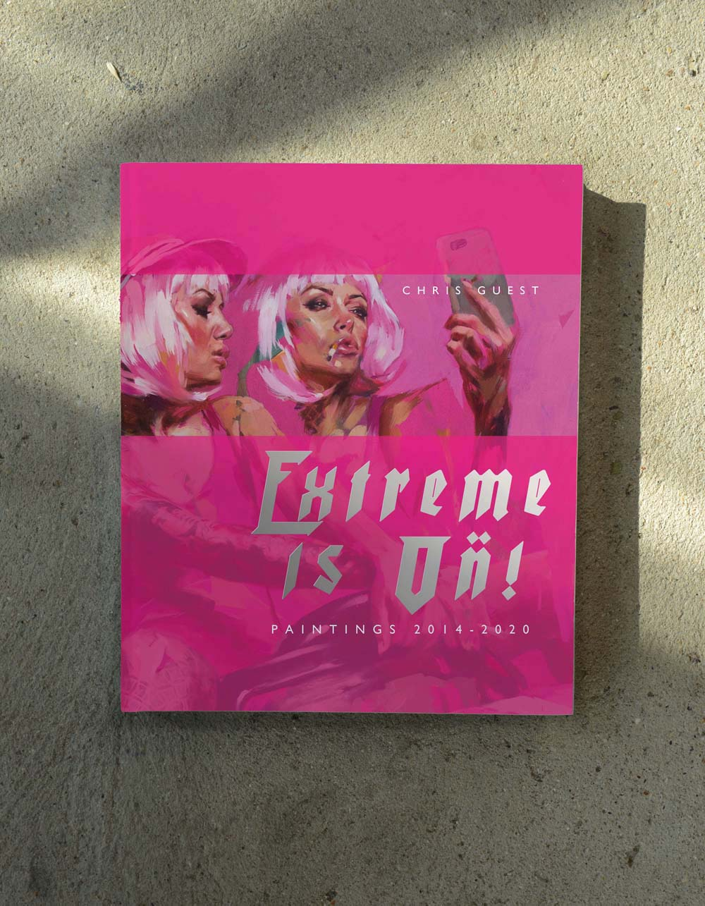 Image of 'EXTREME IS ON!' Pink Car Selfie Version Pre Release