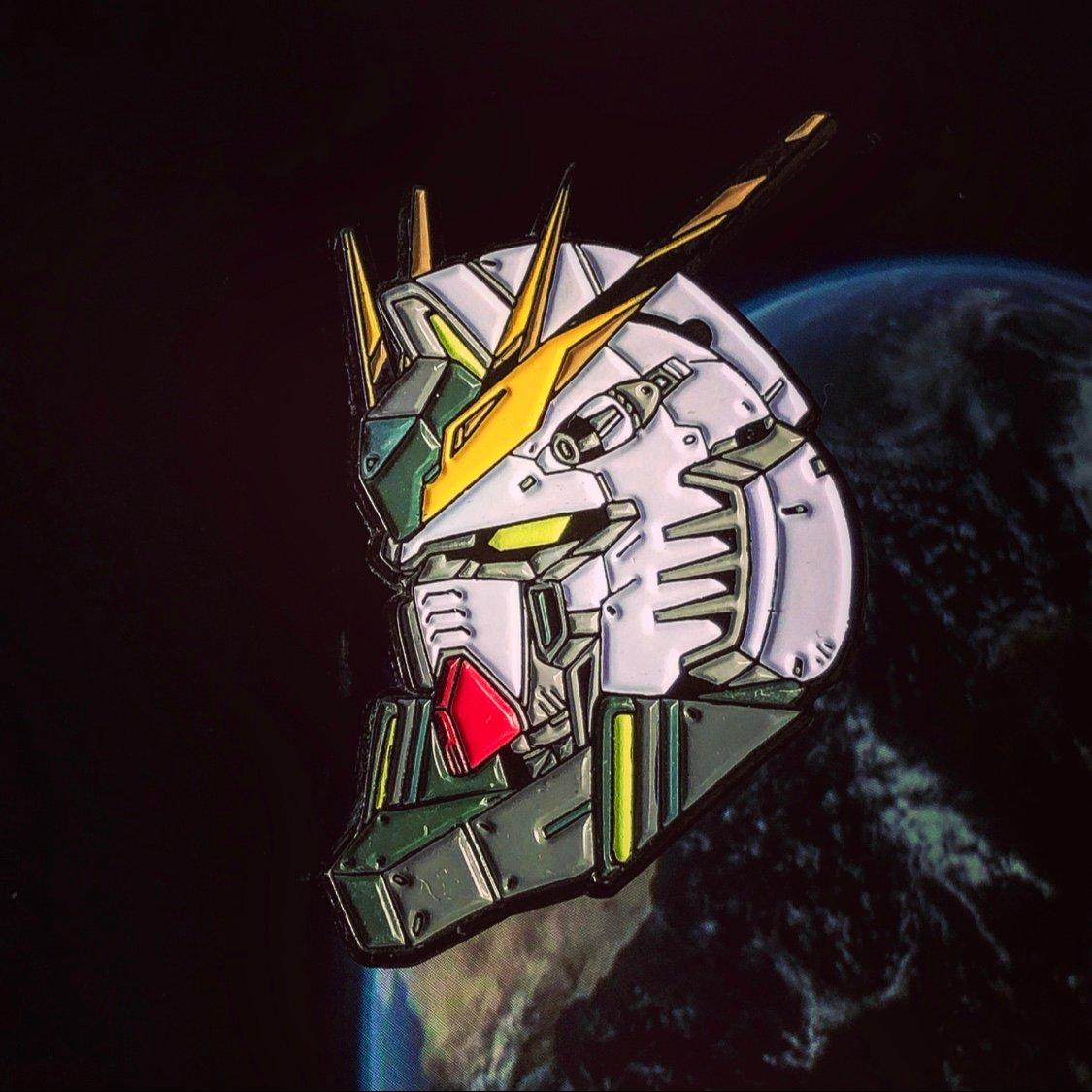 Image of Nu Gundam | SOFT ENAMEL PIN
