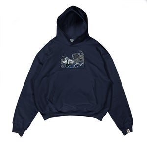 Image of The Prophecy Navy Hoodie