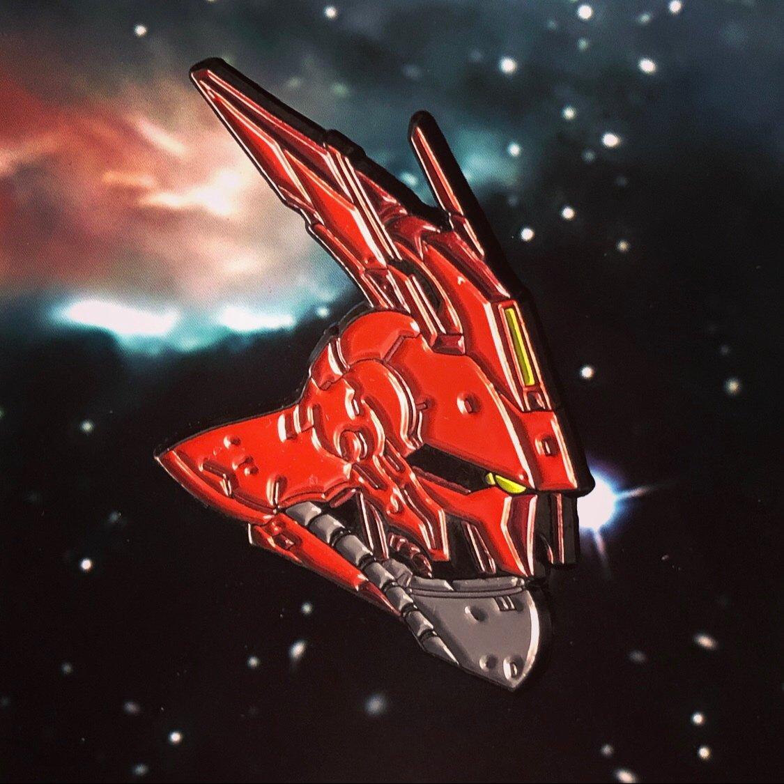 Image of Sazabi Gundam | SOFT ENAMEL PIN