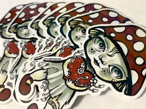 Image of Fungalina Vinyl Die Cut Sticker