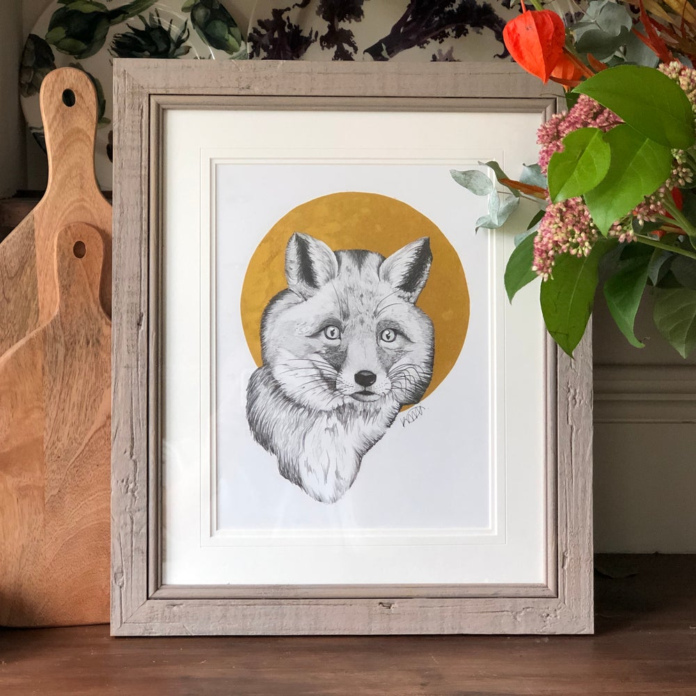 Image of Gold Fox - Original