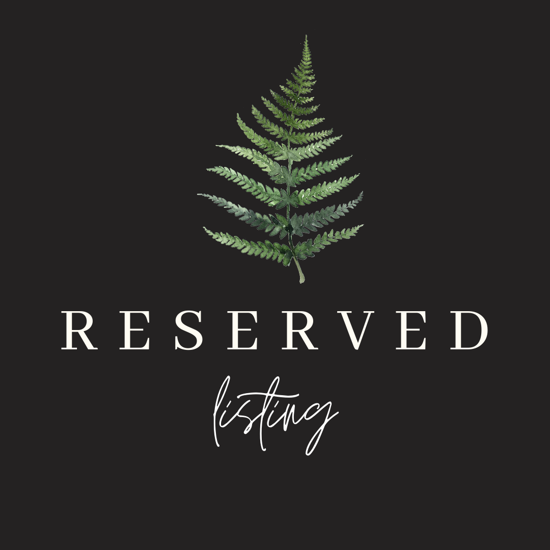 Image of Reserved for Ashley