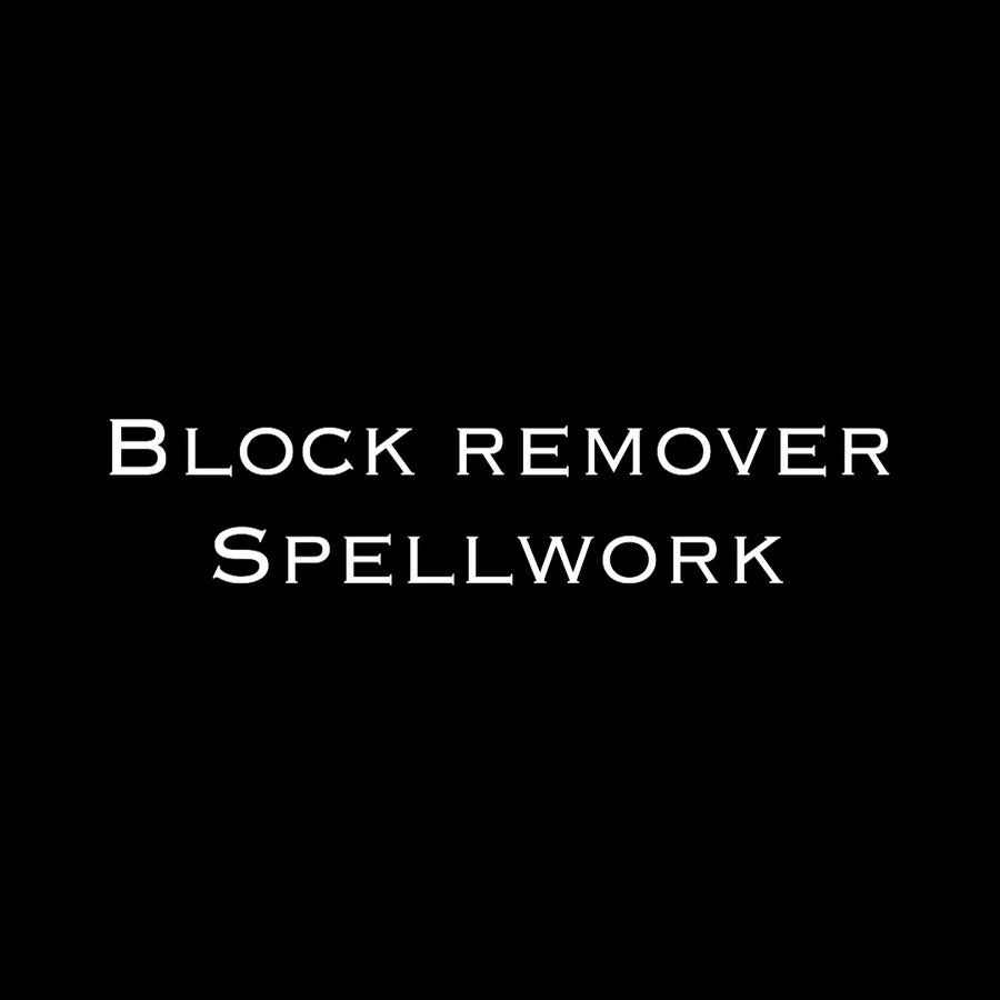 Image of Block Remover Spell