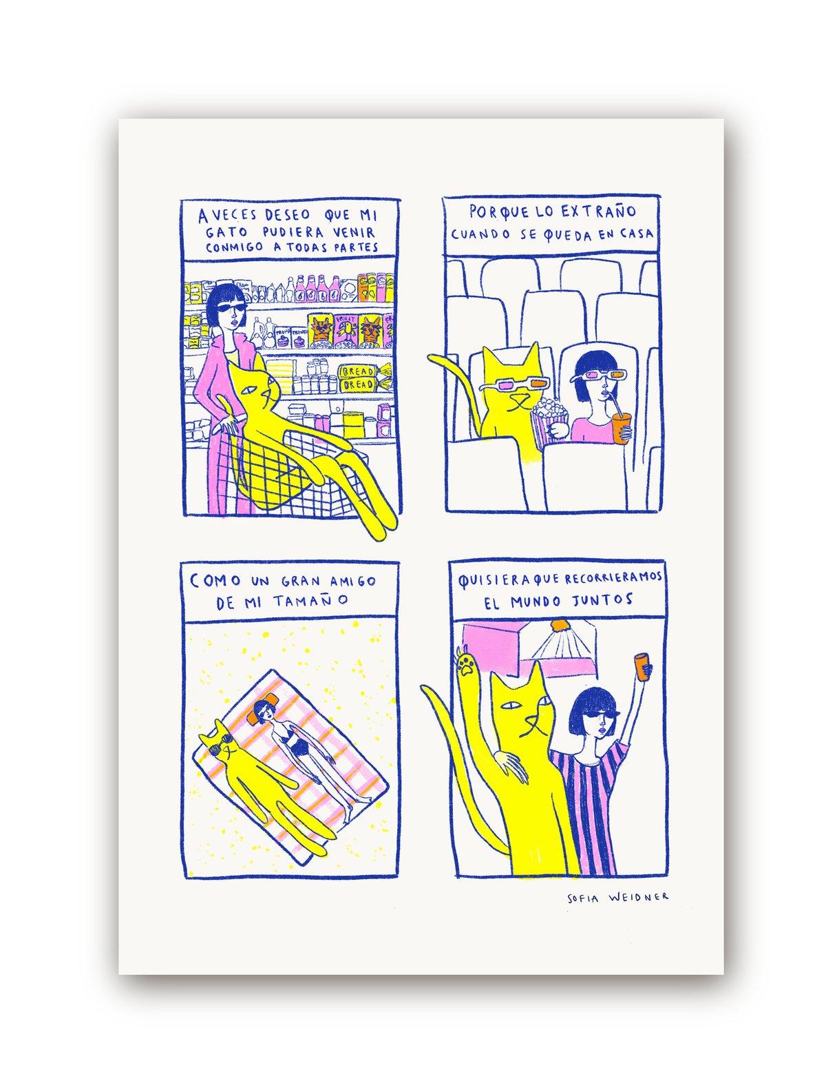 Image of Un gran amigo Print