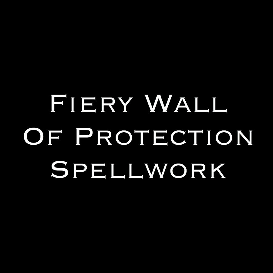 Image of Fiery Wall Of Protection Spell