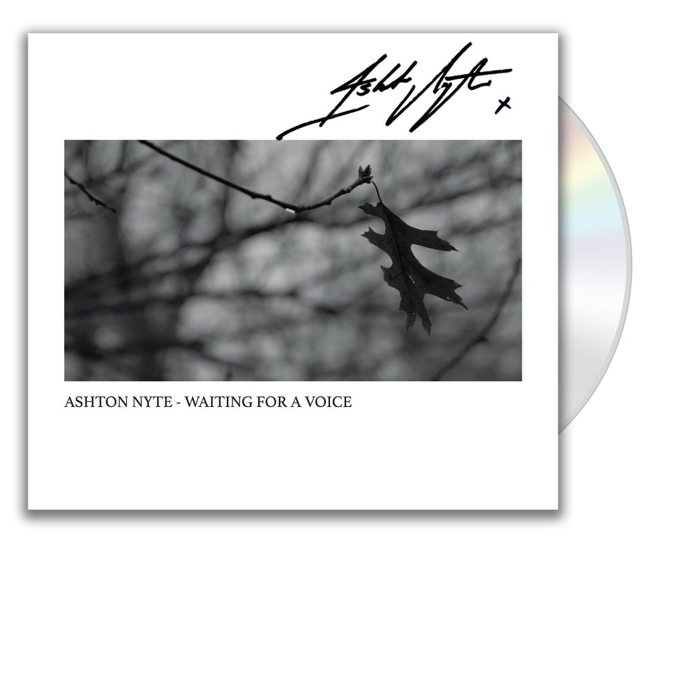 Image of Ashton Nyte - Waiting For A Voice (CD) [Limited Signed]