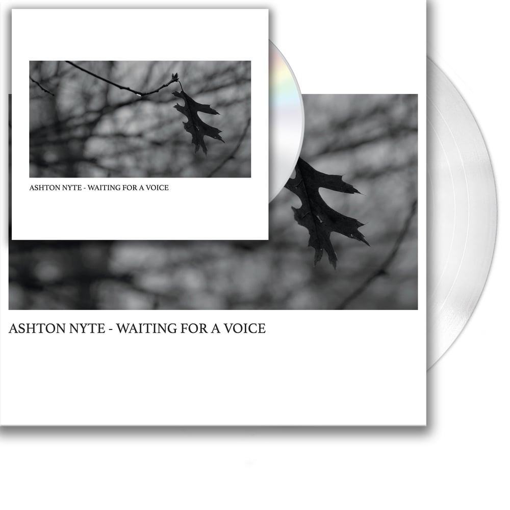 Image of Ashton Nyte - Waiting For A Voice (Vinyl + CD Bundle)