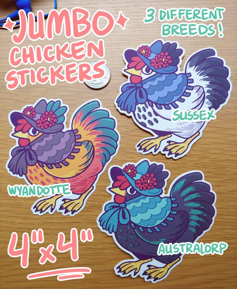 Image of JUMBO Chicken Stickers