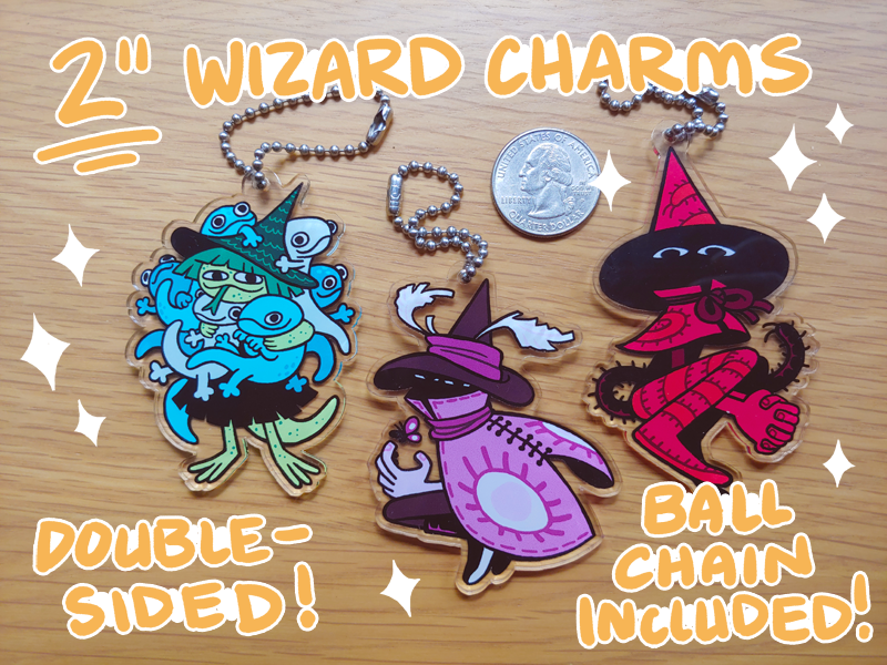 Image of Wizard Keychains
